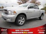2011 Bright Silver Metallic Dodge Ram 1500 Big Horn Crew Cab #38689918