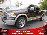 2011 Rugged Brown Pearl Dodge Ram 1500 Laramie Crew Cab #38689919