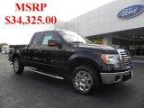 2010 Tuxedo Black Ford F150 XLT SuperCab #38689929