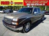 2006 Sandstone Metallic Chevrolet Silverado 1500 LT Crew Cab #38690653
