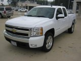2008 Summit White Chevrolet Silverado 1500 LT Extended Cab #38690331