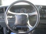 2002 Chevrolet Silverado 1500 LS Extended Cab 4x4 Steering Wheel