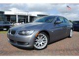2008 Space Grey Metallic BMW 3 Series 328i Coupe #38690364