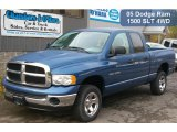 2005 Atlantic Blue Pearl Dodge Ram 1500 SLT Quad Cab 4x4 #38690015