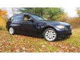 2006 Monaco Blue Metallic BMW 3 Series 325xi Wagon #38690385
