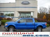 2010 Blue Flame Metallic Ford F150 XLT SuperCrew 4x4 #38689681