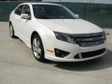 2011 White Platinum Tri-Coat Ford Fusion Sport #38690036