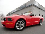 2007 Torch Red Ford Mustang GT Premium Convertible #38689707
