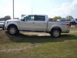 2010 Ingot Silver Metallic Ford F150 Lariat SuperCrew 4x4 #38690425