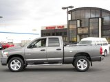 2008 Mineral Gray Metallic Dodge Ram 1500 Big Horn Edition Quad Cab 4x4 #38690450