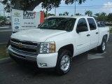 2011 Summit White Chevrolet Silverado 1500 LT Crew Cab 4x4 #38689769
