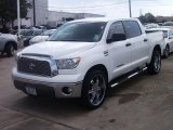 2008 Super White Toyota Tundra Texas Edition CrewMax #38690815