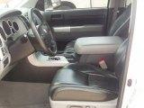 2008 Toyota Tundra Texas Edition CrewMax Black Interior