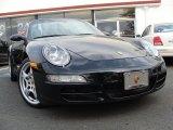 2007 Black Porsche 911 Carrera Cabriolet #38690862