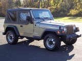 2004 Jeep Wrangler Light Khaki Metallic