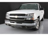 2004 Summit White Chevrolet Silverado 1500 Regular Cab #38794174