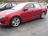 2011 Red Candy Metallic Ford Fusion Sport #38795050