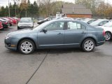 2011 Steel Blue Metallic Ford Fusion SE #38795051