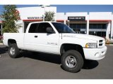 1999 Bright White Dodge Ram 1500 Sport Extended Cab 4x4 #38794229
