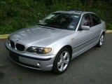 2004 Titanium Silver Metallic BMW 3 Series 325xi Sedan #38795062