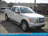 2010 Oxford White Ford F150 XLT SuperCab 4x4 #38794689