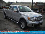 2010 Ingot Silver Metallic Ford F150 Lariat SuperCrew 4x4 #38794693