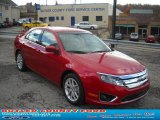 2011 Red Candy Metallic Ford Fusion SEL #38794695