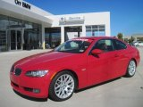2008 Crimson Red BMW 3 Series 328i Coupe #38795105