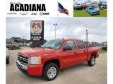 2010 Victory Red Chevrolet Silverado 1500 LS Crew Cab #38794720