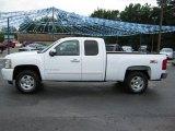 2008 Summit White Chevrolet Silverado 1500 LT Extended Cab 4x4 #38795533