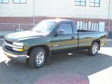 2002 Forest Green Metallic Chevrolet Silverado 1500 Work Truck Regular Cab #38794314