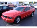2007 Torch Red Ford Mustang V6 Premium Coupe #38794767