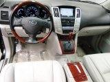 2008 Lexus RX 400h Hybrid Light Gray Interior