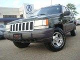 1996 Moss Green Metallic Jeep Grand Cherokee Laredo 4x4 #38794333