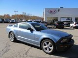2007 Windveil Blue Metallic Ford Mustang GT Premium Coupe #38795184