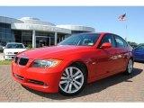 2008 Crimson Red BMW 3 Series 328i Sedan #38795196