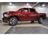 2011 Deep Cherry Red Crystal Pearl Dodge Ram 1500 Sport Crew Cab 4x4 #38794811