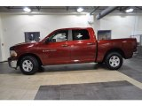 2011 Deep Cherry Red Crystal Pearl Dodge Ram 1500 SLT Crew Cab #38794812