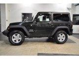 2011 Black Jeep Wrangler Sport S 4x4 #38794818