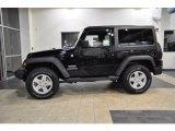 2011 Black Jeep Wrangler Sport S 4x4 #38794819