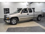2002 Light Pewter Metallic Chevrolet Silverado 1500 Extended Cab #38794822