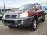 2004 Merlot Red Hyundai Santa Fe LX #38794381