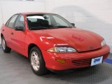 Flame Red Chevrolet Cavalier in 1998