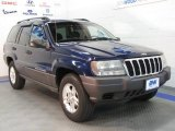 2002 Patriot Blue Pearlcoat Jeep Grand Cherokee Laredo 4x4 #38795267