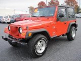 2005 Jeep Wrangler Impact Orange