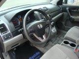 2009 Honda CR-V EX 4WD Gray Interior