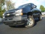 2006 Black Chevrolet Silverado 1500 LS Regular Cab 4x4 #38794483