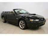 2003 Black Ford Mustang GT Convertible #38795354