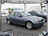 2003 Steel Blue Metallic BMW 3 Series 325i Sedan #38794902