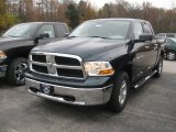2011 Hunter Green Pearl Dodge Ram 1500 SLT Crew Cab 4x4 #38795363